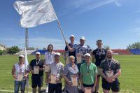 Новотроицкие металлурги поучаствовали в XIX фестивале рабочего спорта, посвященном Дню города, и стали лидерами.