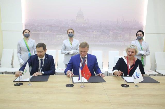 Соглашение о запуске проекта и взаимодействии по другим направлениям подписали на Петербургском международном экономическом форуме.