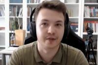 Экс-главред оппозиционного Telegram-канала Nexta Роман Протасевич.