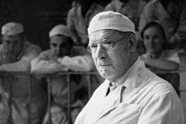 Николай Бурденко, 1963 год.