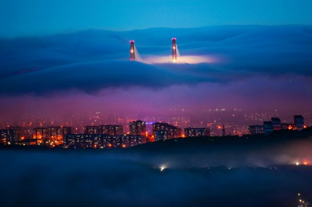 «Волшебный туман».