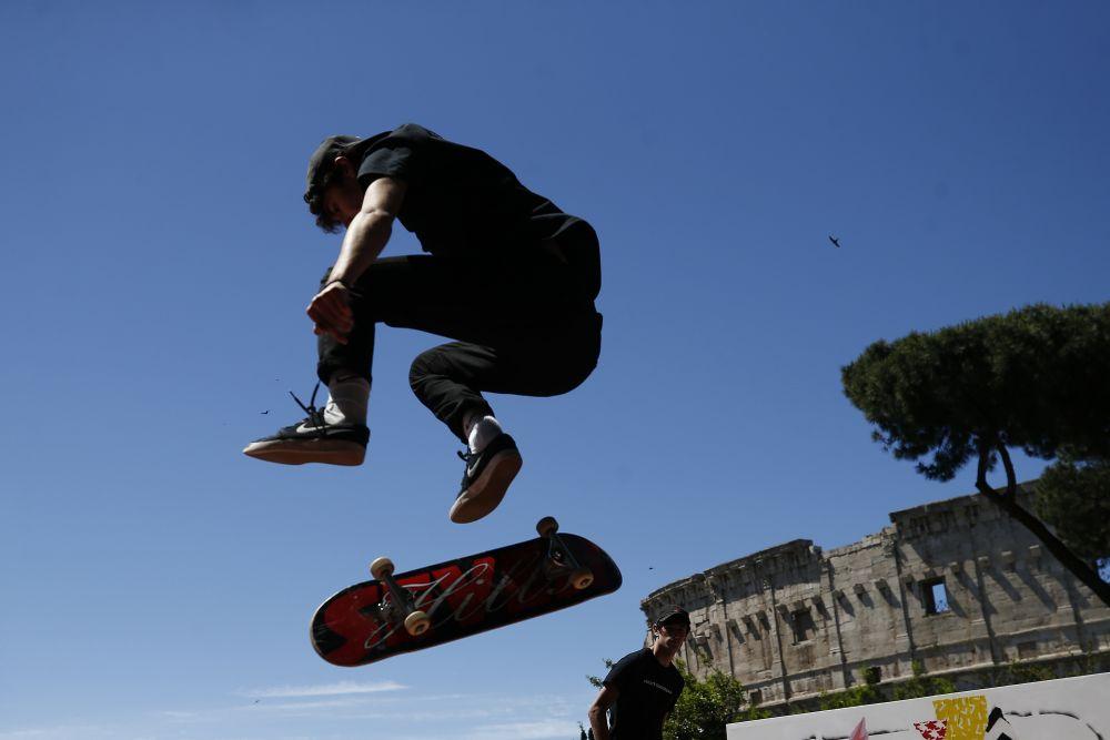 Презентация Чемпионата мира по уличному скейтбордингу
