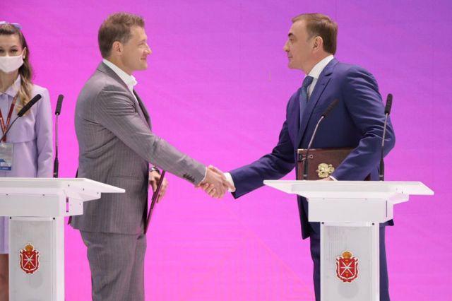 Документ подписали губернатор Алексей Дюмин и генеральный директор «Плант_Спэйс» Андрей Крушинский.