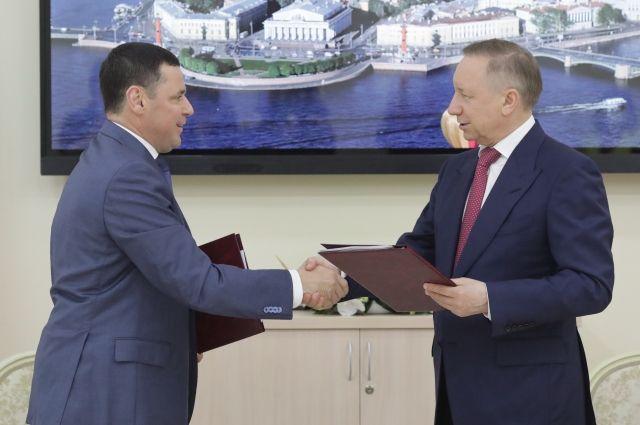 Губернатор Александр Беглов и губернатор Ярославской области Дмитрий Миронов подписали новый план мероприятий.