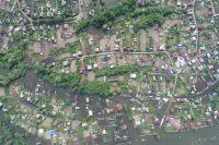 В Березовском районе затоплено больше 60 дачных участков.