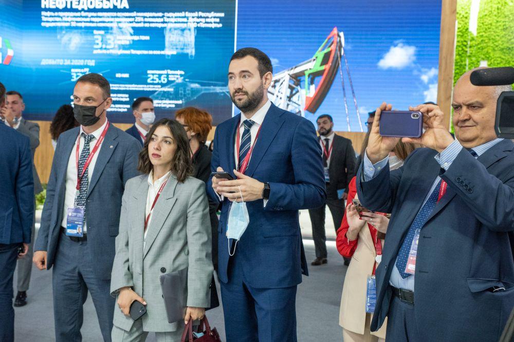 Петербургский международный экономический форум, 2021.