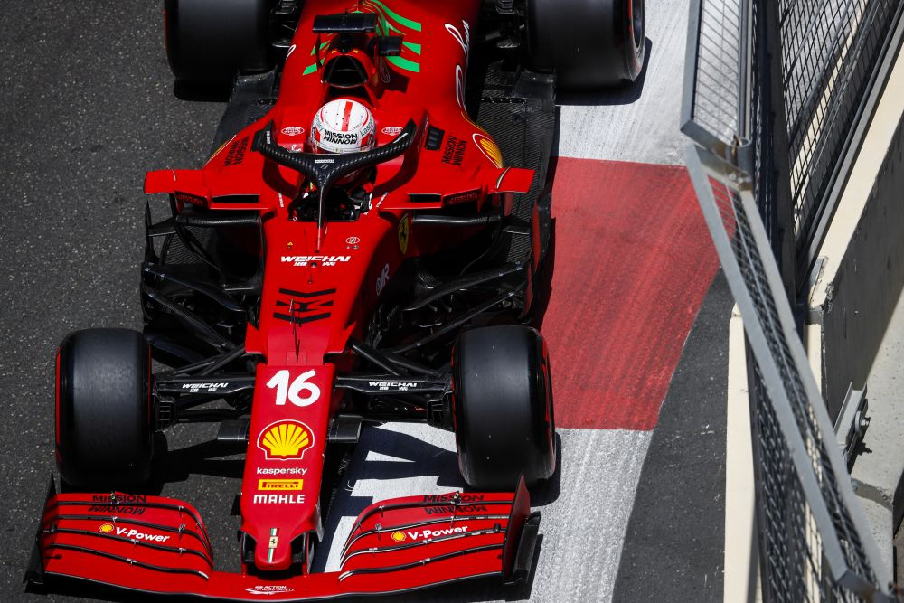 Пилот Ferrari Шарль Леклер