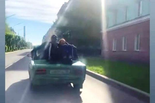 Поймать нарушителя помогла видеозапись.