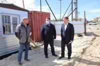 Председатель Сургутской районной думы Анатолий Сименяк на объекте