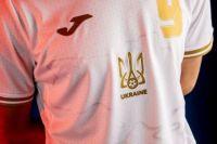 Форма сборной Украины утверждена в соответствии с правилами УЕФА.