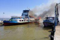 В Одесской области загорелся прогулочный катер: есть пострадавший.