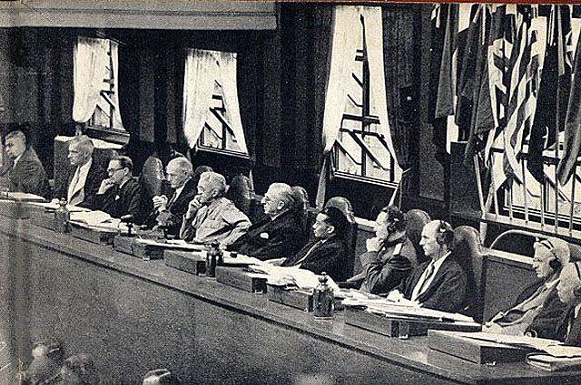 Судьи Международного военного трибунала для Дальнего Востока.