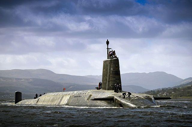 Подводная лодка класса Vanguard.