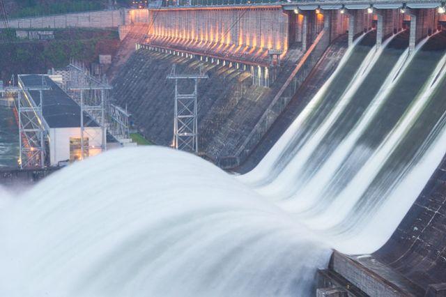 Уровень воды в Енисее снизился на 6,2 см.