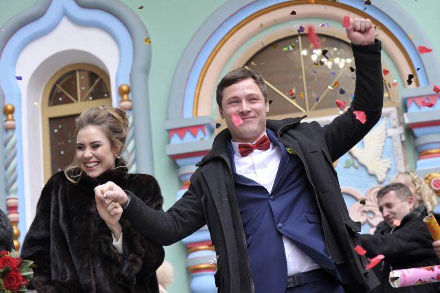 Свадьба в Москве.