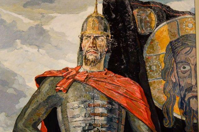 Александр Невский. Павел Корин. 1942 год.