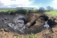 Столб огня 400 метров: под Ивано-Франковском на газопроводе произошел взрыв