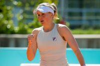 Катерина Козлова вышла в третий круг турнира в Ноттингеме.