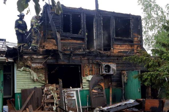На восстановление сгоревшего дома нужны немалые средства.