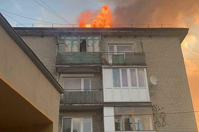 В Светлогорске в многоквартирном доме произошел пожар