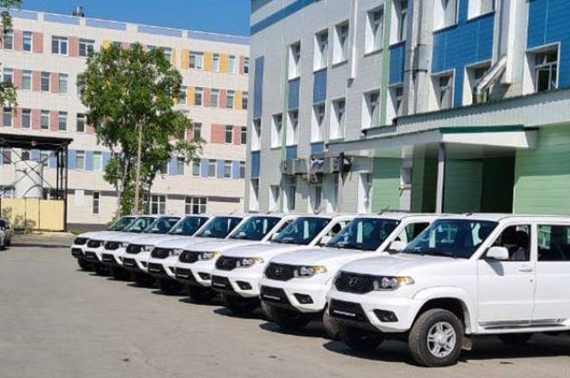 Машины приобрели в рамках федеральной программы модернизации первичного звена здравоохранения.