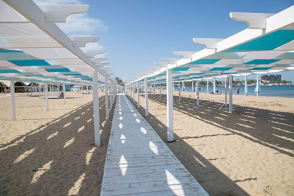 В Анапе тщательно следят за состоянием и внешним обликом пляжей.