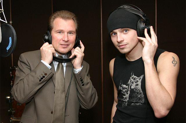 Александр и Никита Малинины. 2004 год.