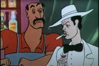 Кадр из мультфильма «Ограбление по...»