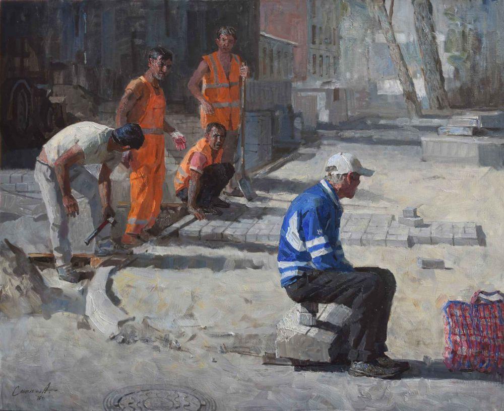 Персонажи картин узнают себя и даже приходят на выставки художника.
