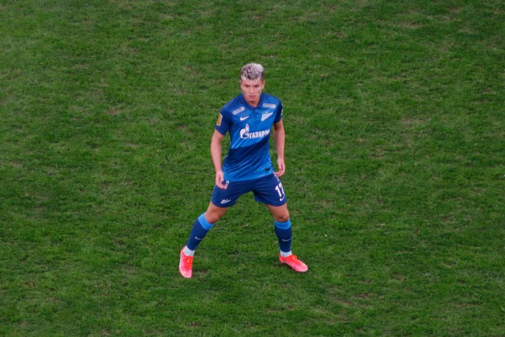 Полузащитник Андрей Мостовой (23 года, ФК «Зенит», Санкт-Петербург)