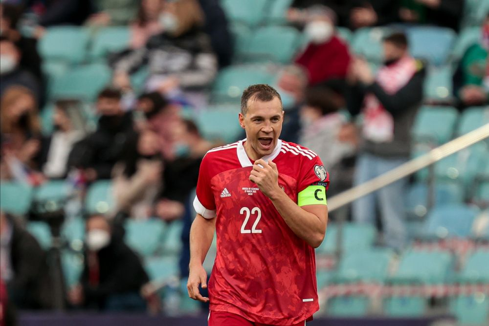 Нападающий Артём Дзюба (32 года, ФК «Зенит», Санкт-Петербург)
