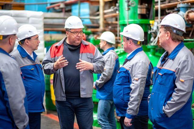 Предприятия «ТАУ НефтеХим» в Башкирии посетила делегация из Алтайского края