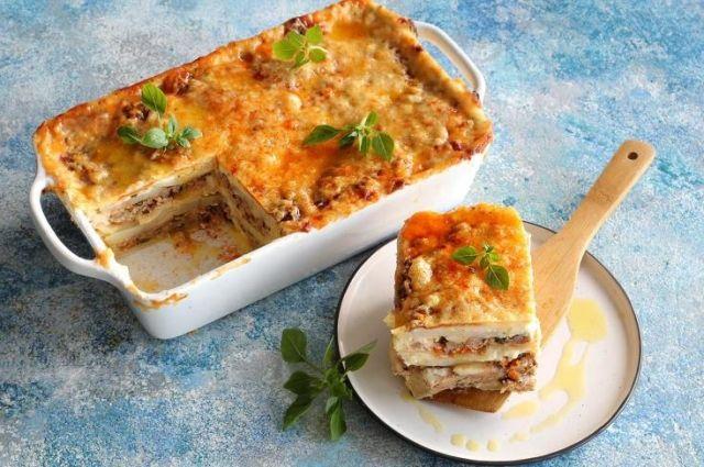 Лазанья со свининой и картофелем: рецепт вкусного блюда