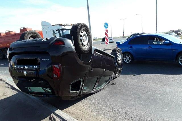 Авария произошла на 11 километре автодороги «Обход города Оренбурга».