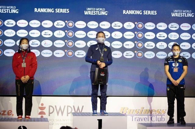 Ольга Хорошавцева стала победительницей рейтингового борцовского турнира UWW «Poland Open-2021».