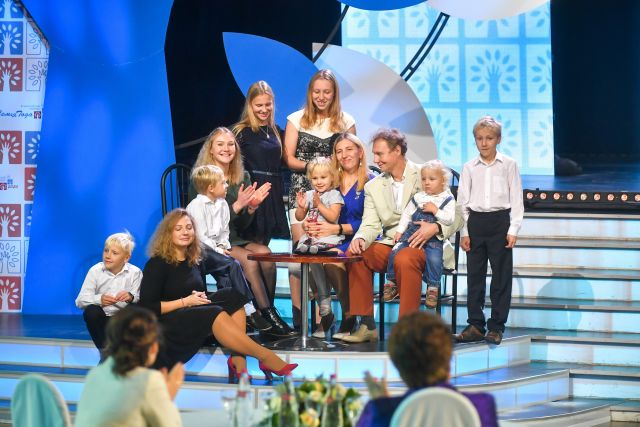 Церемония награждения победителей всероссийского конкурса «Семья года - 2020» .
