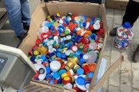 Сдавать можно пищевые отходы, пластик 1 типа, макулатуру, стекло, металл