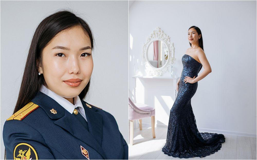 Лейтенант внутренней службы УФСИН России по Республике Тыва Диана Сат