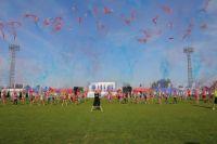 На новотроицком стадионе «Металлург» состоялась торжественная церемония открытия VIII Летней Корпоративной Спартакиады компании «Металлоинвест».