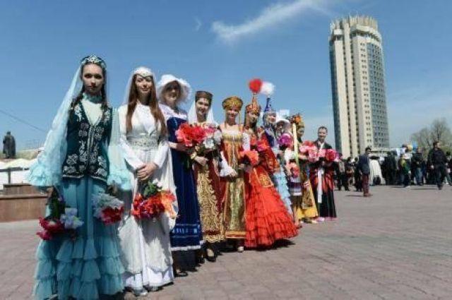 К мероприятию присоединились представители разных народов, проживающих в округе