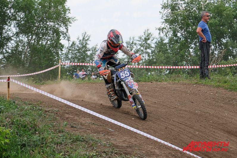 Первенство города Перми по мотоциклетному спорту.