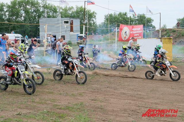В Перми прошли гонки на мотоциклах