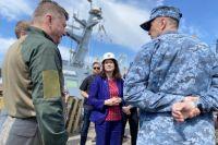 Председатель ОБСЕ посетила Мариуполь
