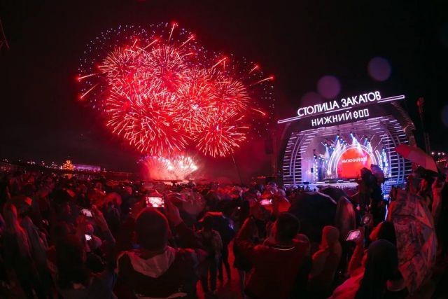 Музыка, танцы и фейерверки. Как в Нижнем Новгороде отметили День России