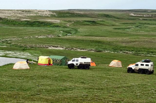 Первая экспедиция отправилась 14 июня
