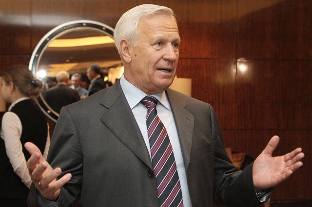 Почетный президент РФС Вячеслав Колосков, 2011 г.