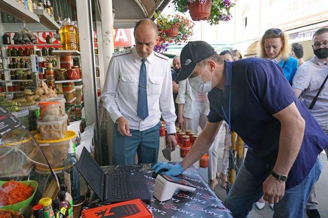 Калининградским уличным торговцам могут опять разрешить торговать без кассы