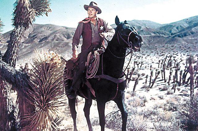 Рональд Рейган в фильме «Закон и порядок», 1953 г.