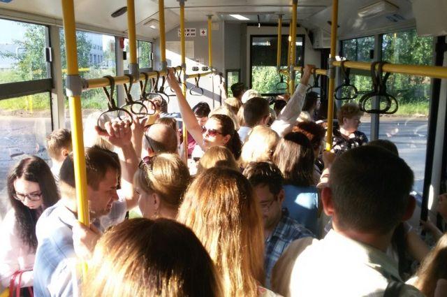 Жители Чусового пожаловались на то, что местное автотранспортное предприятие резко сократило число рейсов.