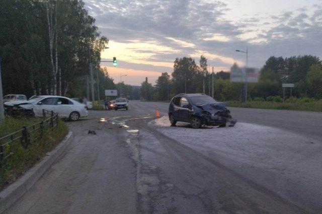 Автомобилистка с маленьким стажем устроила ДТП с 5 пострадавшими в Ижевске